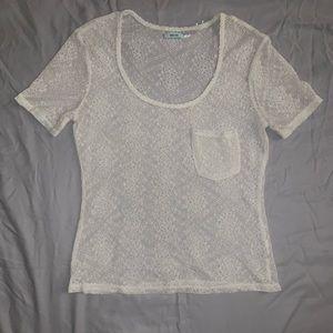 Kimchi Blue Sheer Lace T-shirt